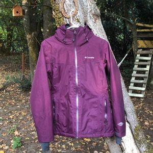 Women's small Columbia omni-tech winter jacket